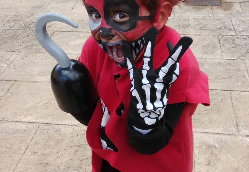FOXY en Halloween