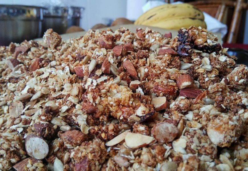 Muesli de avena y frutos secos