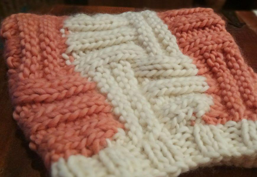 Muestra cuello de lana