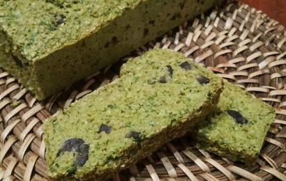 Pan de salvado de avena verde