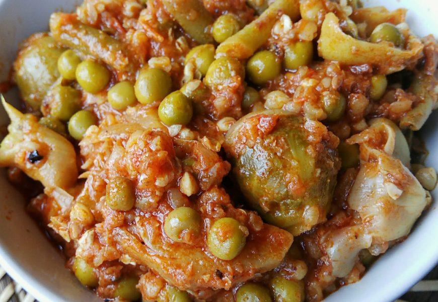 Menestra de verduras con trigo sarraceno