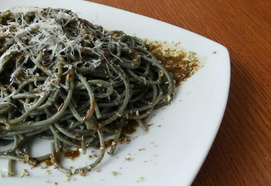 Espaguettis de algas